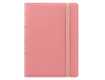Filofax Notebook Pocket 144x105mm linjerat rosa pastell