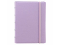 Filofax Notebook Pocket 144x105mm linjerat lila pastell