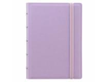 Filofax Notebook Pocket 144x105mm linjerat lila pastell