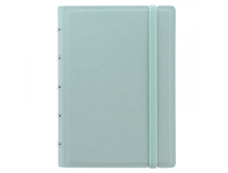 Filofax Notebook Pocket 144x105mm linjerat grön pastell