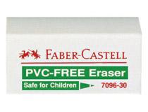 Radergummi Faber-Castell 7096 41x11x18mm 30st/fp