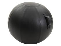 Balansboll JobOut Design PU-läder svart 65cm
