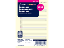 Filofax Pocket Årsplan refill 2022