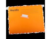 Hängmapp Nordic Office A4 orange 25st/fp