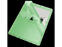 Mapp A4 Copy Safe 0,12 grön 10st/fp