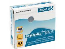 Häftklammer Rapid Strong 23/17 1000st/ask