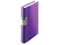 Träryggspärm Leitz Jopa WOW A4 40mm lila
