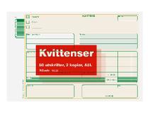 Kvittens A5L 3x50 blad