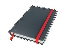 Anteckningsbok Leitz Cosy A5 100g linjerat grå