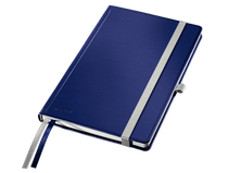 Anteckningsbok Leitz Style A5 linjerad titanblå