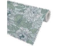 Presentpapper Marquet flowers 57cmx154m