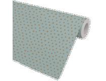 Presentpapper SpotOn mint/guld 57cmx154m