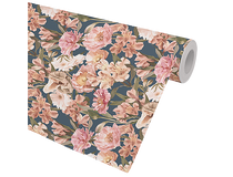 Presentpapper Fleurs 57cmx154m