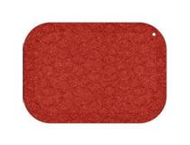 Arbetsplatsmatta StandUp 53x77cm röd