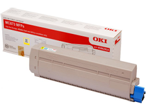 Toner OKI MC873 10k gul
