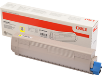 Toner OKI C833/843 10k gul