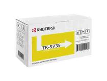 Toner Kyocera TK-8735Y 40k gul