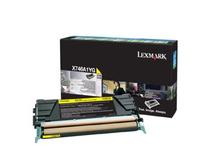 Toner Lexmark 7k gul