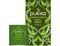 Te Pukka Supreme Matcha Green 20st/fp