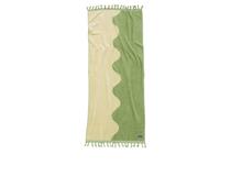 Badlakan Ripple 180x80cm grön