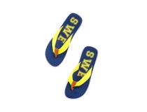 Flipflop SWE blå/gul strl L