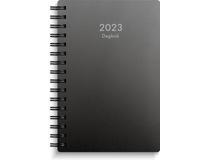 Dagbok plast svart 2022