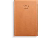 Dagbok konstläder cognac 2022