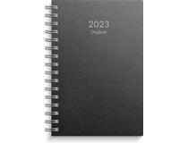 Dagbok miljökartong svart 2022