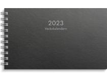 Veckokalendern kartong svart 2022