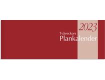 Plankalender stor Tvåveckors 2022