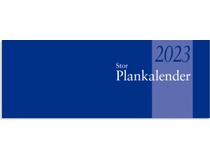 Plankalender stor limbunden 2022