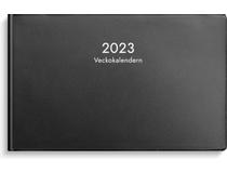 Veckokalendern plast svart 2022