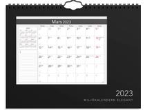 Miljökalendern Elegant 2022