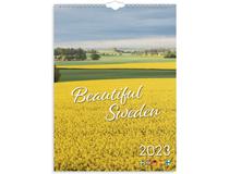 Väggkalender Beautiful Sweden 2022