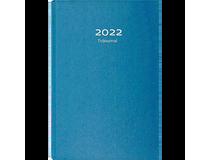 Tidjournal blått kartongomslag 2022