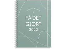Veckokalender Få det gjort A5 2022
