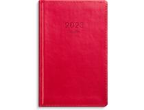 Leader inbunden konstläder röd 2022