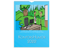 Väggkalender Kontorshumor 2022