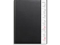 Liten Veckokalender A6 plast svart 2022