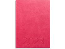 Weekly A5 konstläder rosa 2022