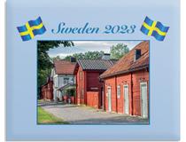 Väggkalender Sweden med kuvert 2022