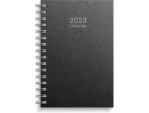Tidkalender kartong svart 2022
