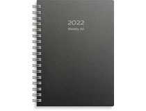 Weekly A6 Eco Line svart 2022