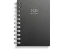 Liten Dagbok miljökartong svart 2022