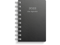 Lilla Agendan miljökartong svart 2022