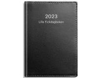 Lilla Fickdagboken skinn svart 2022