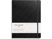 Veckokalender Goal Planner konstläder svart 2022