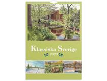 Väggkalender Klassiska Sverige 2022