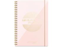 Veckokalender Life Planner rosa A5 2022