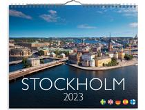 Väggkalender Stockholm 2022